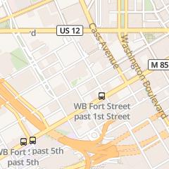 Directions for Prism in Detroit, MI 555 E. Lafayette St