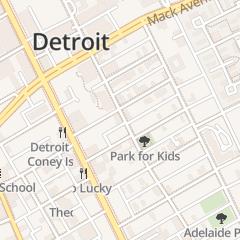 Directions for King David Grand Lodge in Detroit, MI 114 Erskine St