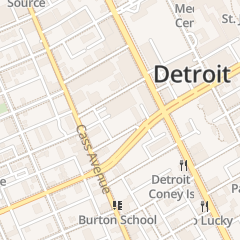 Directions for SAINT MARKS CHURCH OF GOD IN CHRIST CHURCH in DETROIT, MI
