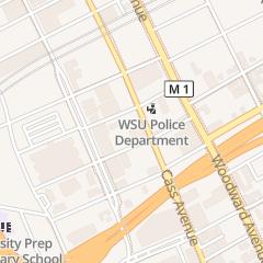 Directions for W D E T Fm Public Radio in Detroit, MI 6001 Cass Ave