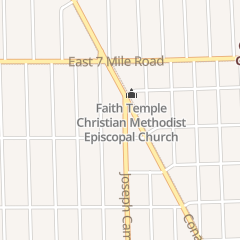 Directions for Seventh-Day Adventist Church in Detroit, MI 18801 Joseph Campau St