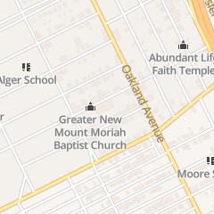Directions for Greater New MT Moriah Missionary Baptist Church in Detroit, MI 586 Owen St
