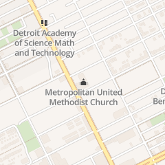 Directions for United Methodist Union of Greater Detroit in Detroit, MI 8000 Woodward Ave