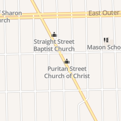 Directions for Puritan St Church of Christ in Detroit, MI 19451 Conant St