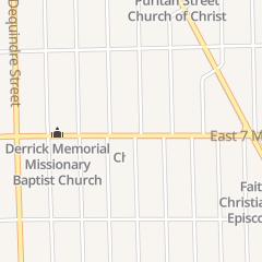 Directions for Solomon's Temple Church of Our Lord Jesus Christ in Detroit, MI 2341 E 7 Mile Rd