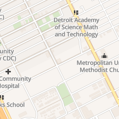 Directions for Detroit Branch Naacp in Detroit, MI 8220 2nd Ave