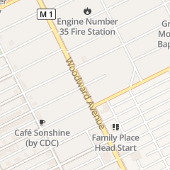 Directions for Little Rock Baptist Church in Detroit, MI 9000 Woodward Ave