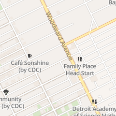 Directions for Nu-Dae Developm in Detroit, MI 8801 Woodward Ave