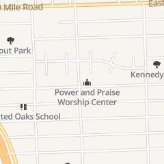 Directions for Worship in Hazel Park, MI 1405 E Pearl Ave