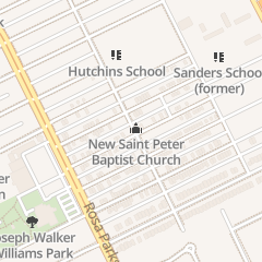 Directions for New St. Peter Baptist Church in Detroit, MI 1600 Pingree St