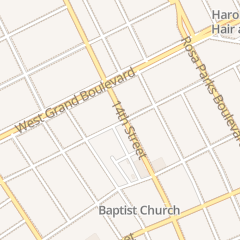 Directions for Independent Missionary Baptist Church in Detroit, MI 6503 14th St