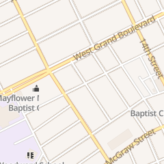 Directions for Star of Zion Missionary Baptist Church in Detroit, MI 2462 Ferry Park St