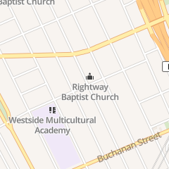 Directions for Right Way Baptist Church in Detroit, MI 4803 25th St