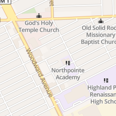 Directions for Soul Harvest Ministries in Highland Park, MI 60 Church St