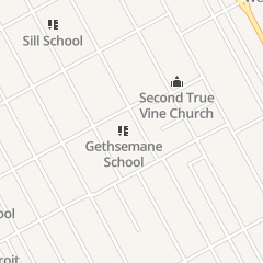 Directions for Motor City Missionary of Baptist Church in Detroit, MI 4461 28th St
