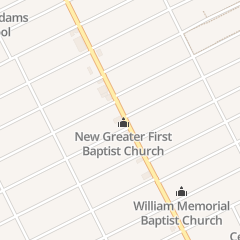 Directions for New Greater First Baptist in Detroit, MI 12353 Linwood St