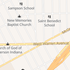 Directions for Goodwill Baptist Church in Detroit, MI 5781 Beechwood St