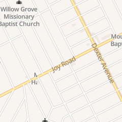 Directions for United House of Prayer for All People in Detroit, MI 4018 Joy Rd
