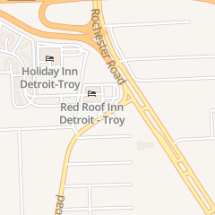 Directions for Red Roof Inn in Troy, MI 2350 Rochester CT