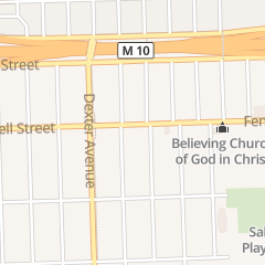 Directions for After Christ Ministries in Detroit, MI 3331 Fenkell St