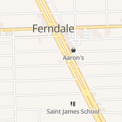 Directions for Mcdonald's Restaurant in Ferndale, MI 22525 Woodward Ave