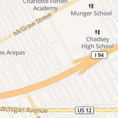 Directions for SANCTUARY OF PRAISE DELIVERANCE CHURCH in DETROIT, MI 5272 CHOPIN ST