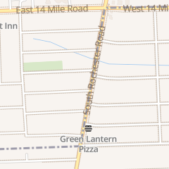 Directions for A1a Locksmith in Clawson, MI 342 S Rochester Rd