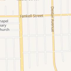 Directions for Bunton Metropolitan CME Church in Detroit, MI 15001 Quincy St