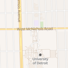 Directions for University of Detroit Mercy in Detroit, MI 4001 W McNichols Rd