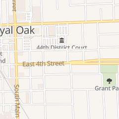Directions for F Oe Post 2092 in Royal Oak, MI 401 E 4Th St