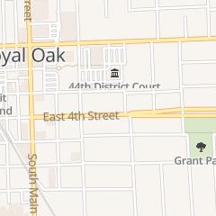 Directions for Fraternal Order of Eagles in Royal Oak, MI 401 E 4th St