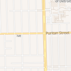 Directions for Up From the World Ministries in Detroit, MI 7001 Puritan St