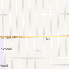 Directions for Blessed Peace Church of God in Detroit, MI 7520 Puritan St