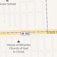 Directions for Mount he Missionary Ba in Ferndale, MI 20740 Reimanville Ave