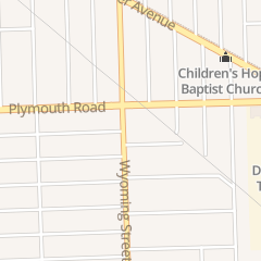Directions for Greater Faith Tabernacle in Detroit, MI 11446 Wyoming St