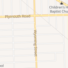 Directions for Church of the Living God in Detroit, MI 11301 Wyoming St