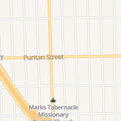 Directions for New Elevation Outreach in Detroit, MI 8913 Puritan St