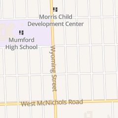 Directions for Unity Temple of the Apostolic Faith in Detroit, MI 17376 Wyoming St