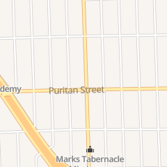 Directions for Body of Christ Community of Faith Church in Detroit, MI 16147 Wyoming St