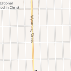Directions for Greater Metropolitan Church of God in Christ in Detroit, MI 18450 Wyoming St