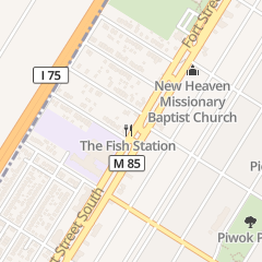 Directions for The Fish Station in Detroit, MI 2640 S Fort St