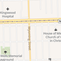 Directions for Cornerstone Apostolic Church in Detroit, MI 20520 Wyoming St