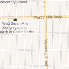 Directions for Duvall International Outreach Ministry in Detroit, MI 18718 Ilene St