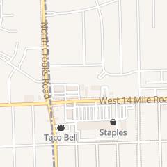 Directions for Advance Auto Parts in Clawson, MI 1206 W 14 Mile Rd