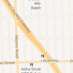 Directions for Unity of Spirit Center in Detroit, MI 16500 James Couzens Fwy