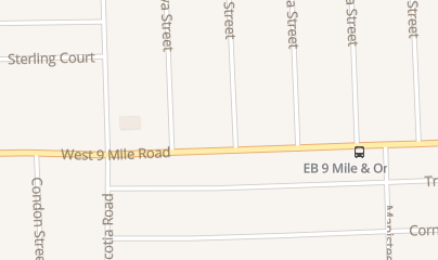 Directions for Reliable Lock & Key in Oak Park, MI 10700 W 9 Mile