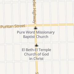 Directions for Confernece Room in Detroit, MI 15900 Schaefer Hwy