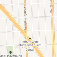 Directions for Kingdom Love Fellowship Assembly in Detroit, MI 18400 Schaefer Hwy