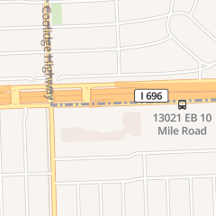 Directions for Jade Palace in Oak Park, MI 13351 W 10 Mile Rd
