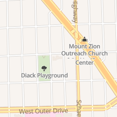 Directions for Greater Mitchell Temple Church of God in Christ - Hall Rental in Detroit, MI 13737 Curtis St